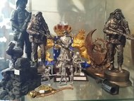 Korps beeldjes