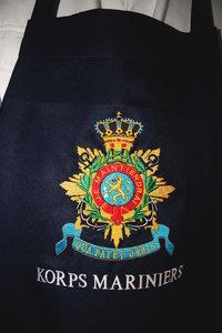 BBQ Schort borduurd Korpswapen