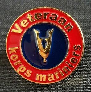 Veteraan speld Korps Mariniers