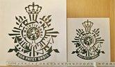 Sticker Zwart op Wit 9 X 11 CM