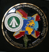 Coin BL US army Command transport