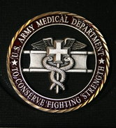 Coin BL US Army Medical