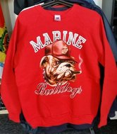USMC Sweater Bulldog