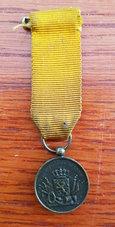 Klein-0-Trouwe-dienst-KL-Medaille