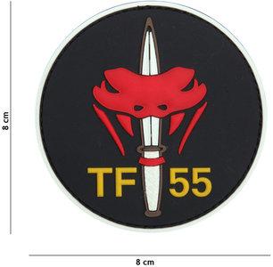 Badge PVC Velcro 3D NL SF  TF 55 color
