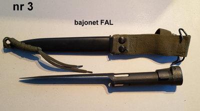 Bajonet Fal compleet / voor verzamelaars