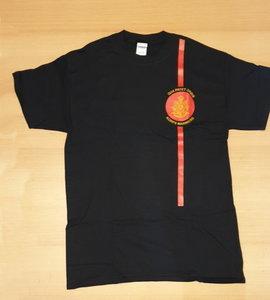 Korps T zwart Korpswapen rood logo