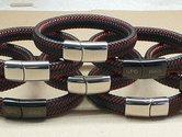 Polsband-leer-zilver-QPO-1665