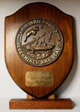 Schildje-USS-Aries-PHM-5-Brons