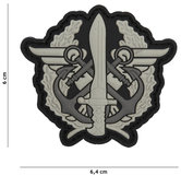 Badge-PVC-Velcro-3D-NL-Navy-Para-Commando-6-cm