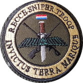 Badge--Velcro-Recce-Sniper-Troop-9-CM