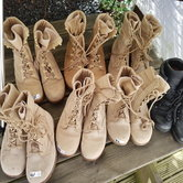 Partij-5-PAAR-licht-gedragen-Desert-boots-Mariniers