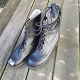 Gevechtslaarzen-zwart-Marns--maat-42